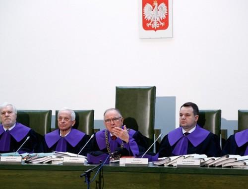 Kompromitacja sędziego Trybunału Stanu Pawła Śliwy przedobliczem GIODO