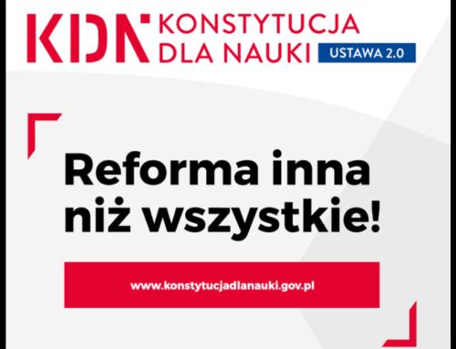 Jest sukces reformy Gowina !