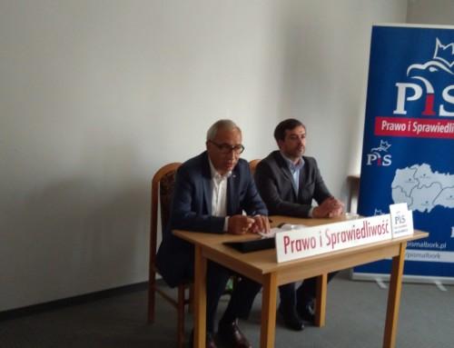 Spotkanie zposłem  Kazimierzem Smolińskim