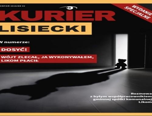 """""""Kurier Lisiecki"""" wydanie specjalne. Vendetta wójta wobec dziennikarzy zagminną kasę!"""