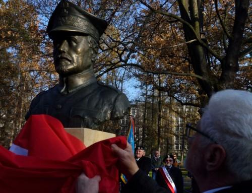 Ojcowie Polskiej Niepodległości wParku Jordana
