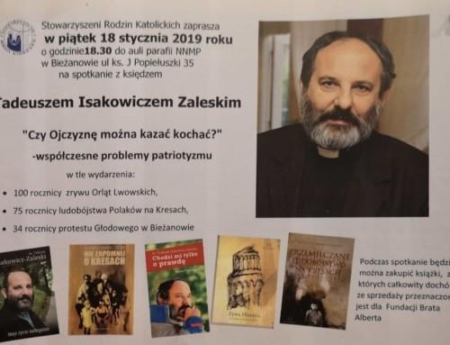 Ks.Tadeusz Isakowicz-Zaleski – lekcja historii