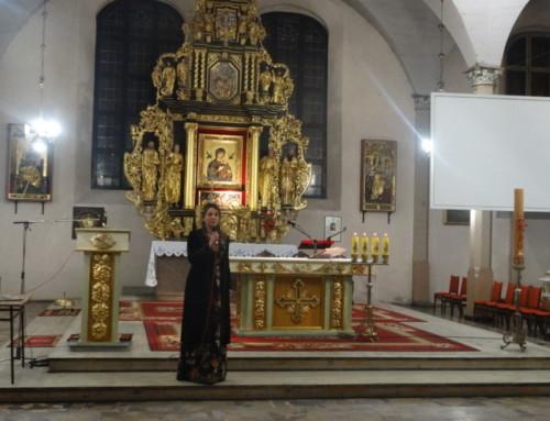 Występ  śpiewaczki operowej Katarzyny Chęsy wMalborku