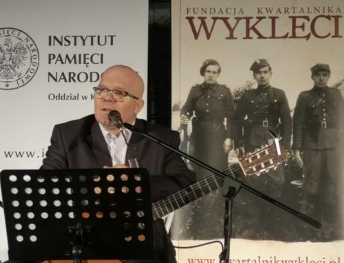 """Przysięgali naorła inakrzyż. Uroczysta gala Kwartalnika """"Wyklęci""""w Muzeum AK wKrakowie"""