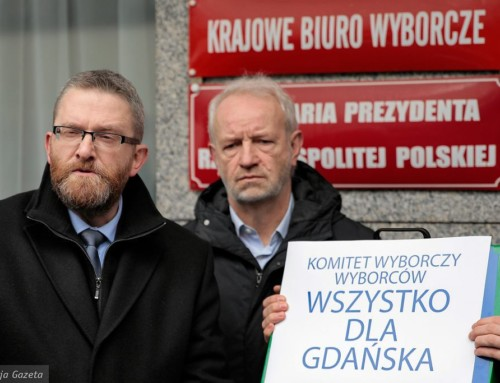 Wybory wGdańsku. Grzegorz Braun nieskłada broni