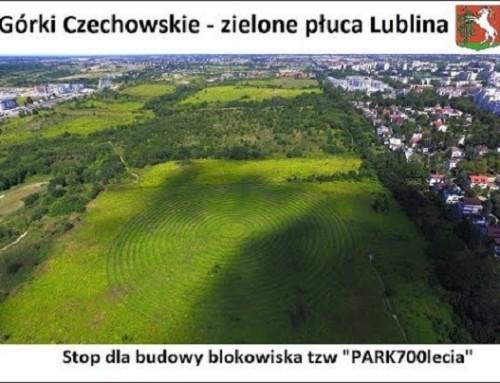 Jeden krótki tekst wwielkim maratonie pisania listów doRadnych Miasta Lublin