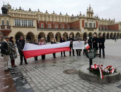39 rocznica tragicznej śmierci Walentego Badylaka –  nadrodze doNiepodległej Polski
