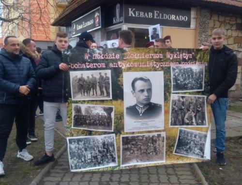 Dzień Pamięci Żołnierzy Wyklętych wMalborku