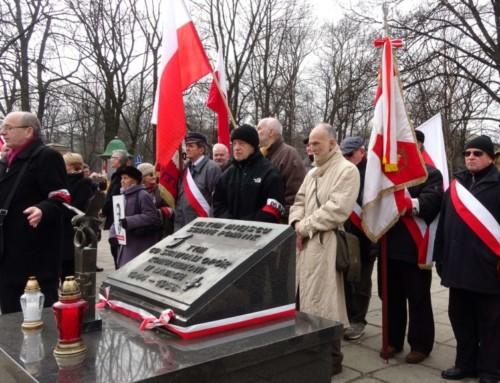 Narodowy Dzień Pamięci Żołnierzy Wyklętych wKrakowie