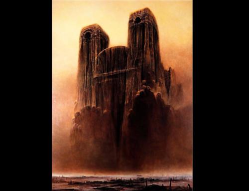 Popożarze Katedry Notre Dame