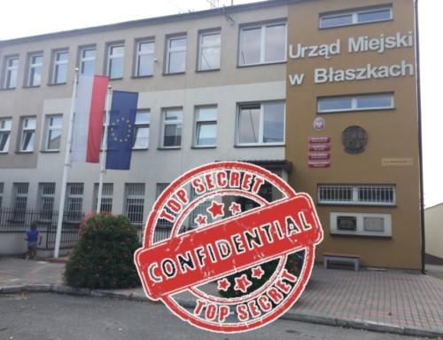 Tajemnice błaszkowskiego magistratu