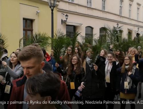 Niedziela Palmowa wKrakowie A.D. 2019