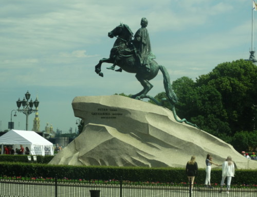 Pielgrzymka doRosji cz.1 -St.Petersburg