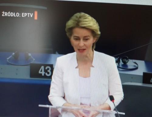 Trzeba było Merkel pokazać gest Kozakiewicza