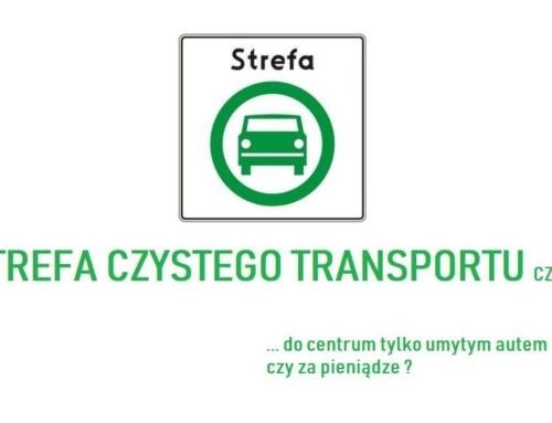 """Krakowska """"Strefa Czystego Transportu"""""""