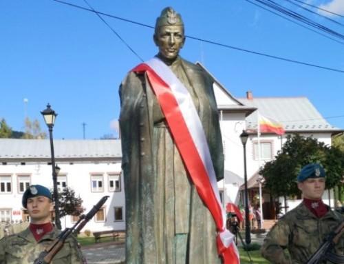 Odsłonięcie pomnika ks.Władysława Gurgacza