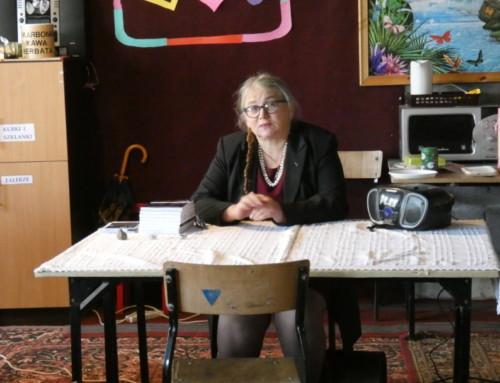 Spotkanie zpisarką Marylą Ścibor Marchocką