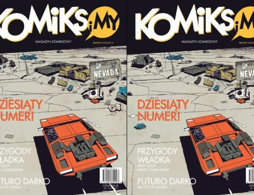 10. numer magazynu Komiks iMy