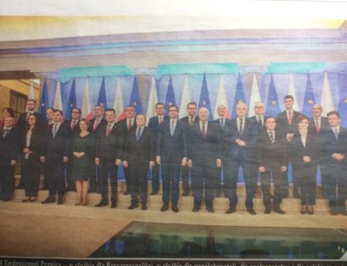 Bezbarwny nowy rząd M. Morawieckiego