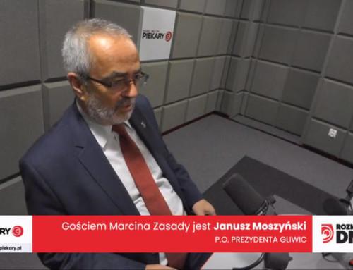 Janusz Moszyński wszczerej rozmowie oproblemach Gliwic ischedzie poFrankiewiczu