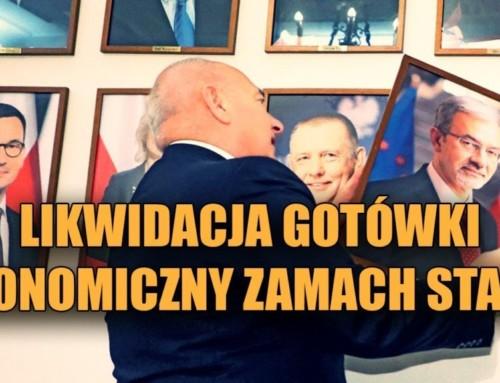 Likwidacja gotówki – ekonomiczny zamach stanu wPolsce