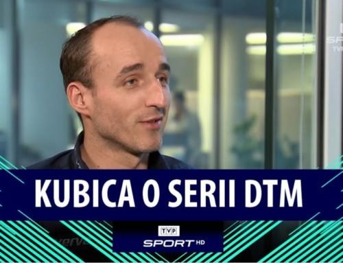 """Robert Kubica oDTM iprzyszłości: """"Wybór stajni niezależy tylkoode mnie"""""""