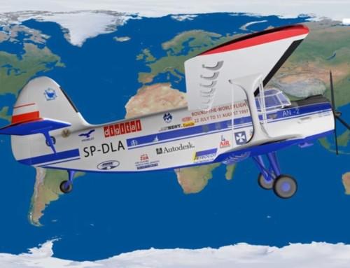 Dookoła świata samolotem An-2