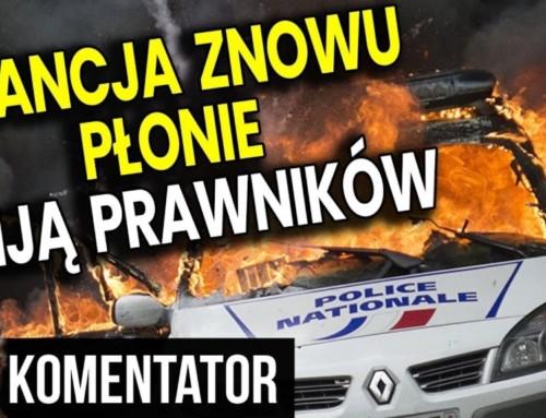 Francja znowu płonie – Policja bije PRAWNIKÓW WSĄDZIE. Unia Europejska MILCZY