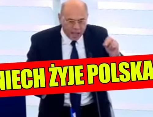 Francuski europoseł staje wOBRONIE POLSKI ipyta: SUWERENNOŚĆ GRZECHEM POLSKI?