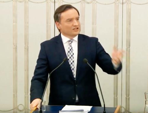 Sędzia złapany nakradzieży może dalej sądzić iwymierzać kary innym złodziejom? Minister Zbigniew Ziobro broni ustawy osądownictwie