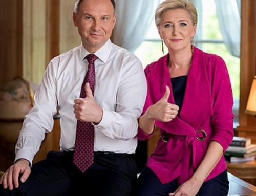 Polska para prezydencka złożyła życzenia Babciom iDziadkom