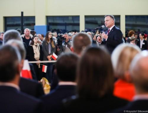 WZwoleniu Prezydent RP Andrzej Duda wygłosił najmocniejsze wcałej kadencji przemówienie