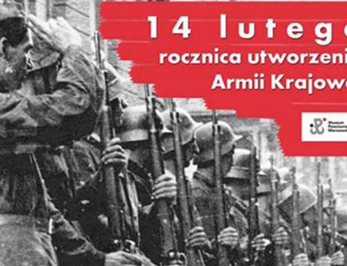 Pamiętajcie! 14 lutego tonietylkoWalentynki. 78 lat temu powstała Armia Krajowa. Cześć ichwała bohaterom!
