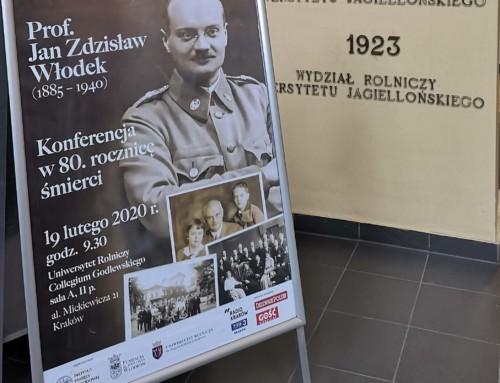 W80. rocznicę śmierci prof.Jana Z. Włodka
