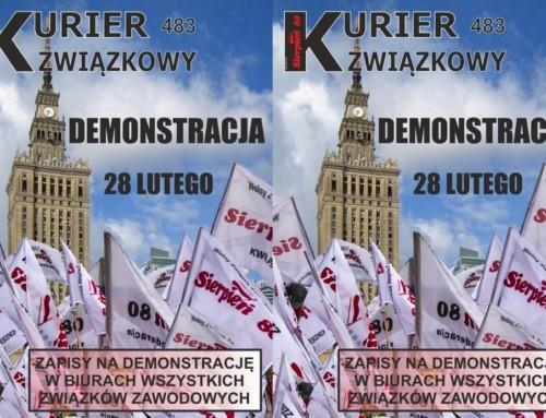 Musimy działać razem! 28 lutego wWarszawie odbędzie się wielka manifestacja górnicza