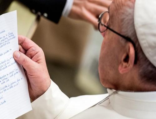 Przemek Ledzian napisał list doPapieża Franciszka. Prosi Ojca Świętego omodlitwę iwsaprcie dla niepełnosprawnych wPolsce