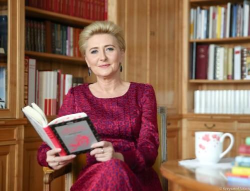 "Koronawirus wPolsce. Pierwsza Dama Agata Kornhauser-Duda wspiera ""Akcja E-dukacja"""