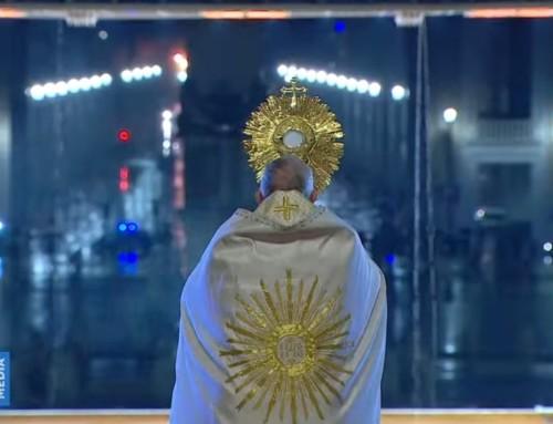 """Papież Franciszek: """"Myśleliśmy, żezawsze będziemy zdrowi wchorym świecie"""""""