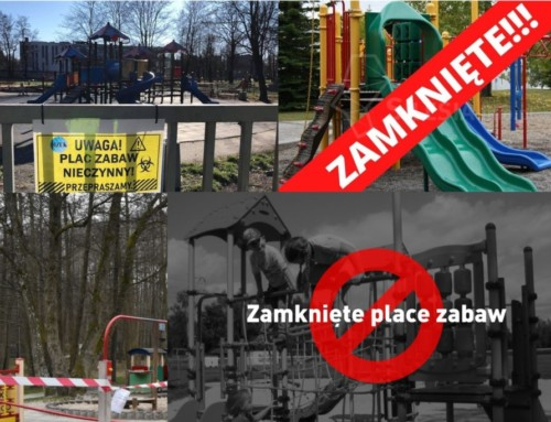 Polskie samorządy zamykają place zabaw, ciepły dzień przyniósł problemy