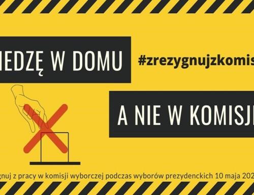 """""""Zrezygnuj zkomisji"""" – ruszył obywatelski bunt!"""
