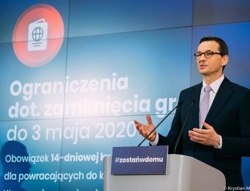 Polskie szkoły zamknięte do26 kwietnia, matury przełożone, ograniczenia utrzymane