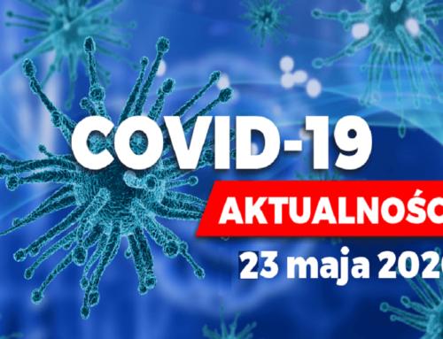 Prof.Jerzy Duszyński: Aktualizacja informacji oepidemii COVID-19 wPolsce – 23 maja 2020 roku