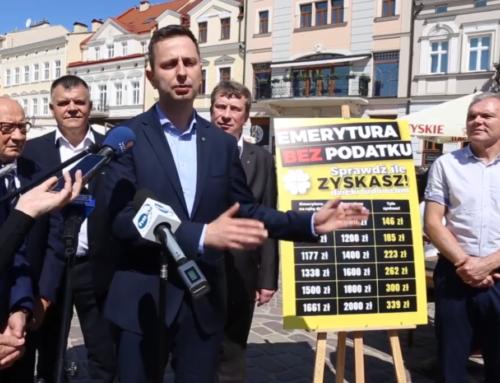 """Trzecia """"najgorsza historia"""" czyli PSL-owski projekt ustawy"""" emerytura bezpodatku"""""""