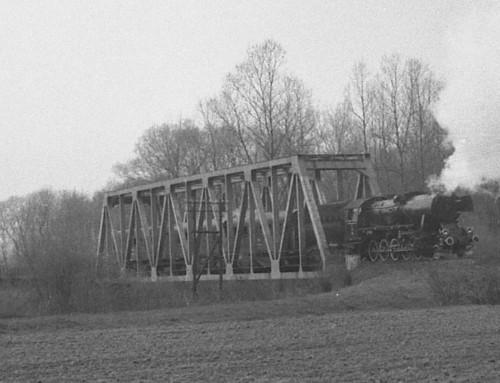 Pamiątka polinii kolejowej nr103, którą należy uratować