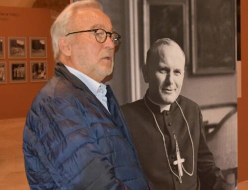 Adam Bujak nawystawie Karol Kardynał Wojtyła wMuzeum Narodowym