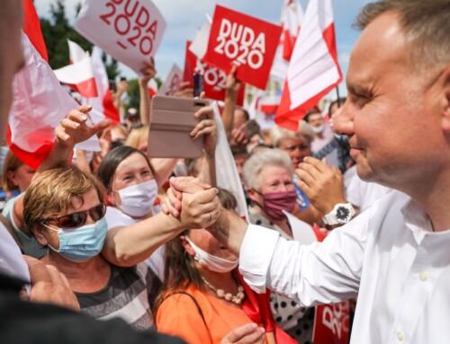 Prawica Rzeczypospolitej wzywa dogłosowania naAndrzeja Dudę