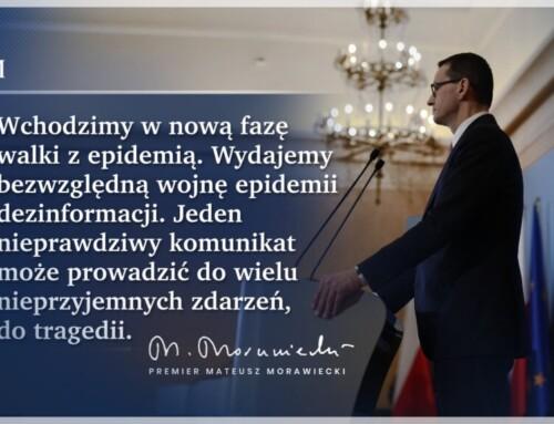 Premier Morawiecki odwołuje pandemię aPolicja wlepia Polakom mandaty!