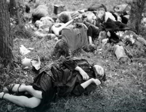Oludobójstwie nacjonalistów ukraińskich naKresach Wschodnich