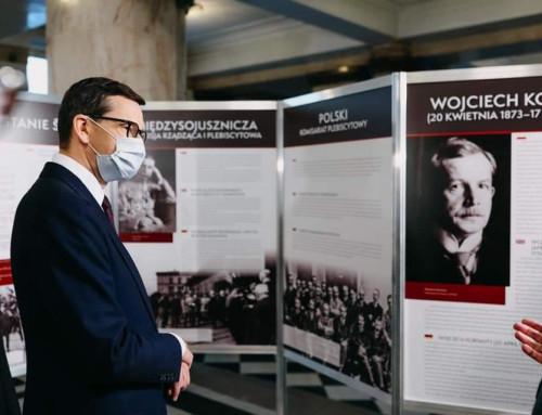 Premier Morawiecki wziął udział wotwarciu wystawy Powstania Śląskie