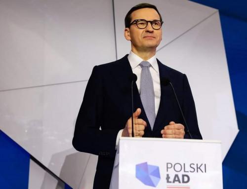 Premier Morawiecki: Polski Ład  zwiększa szansę rozwoju każdej gminy!